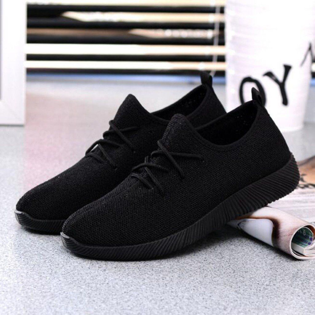 women sport running casual lace up shoes Coconut sports shoes Student flat shoes