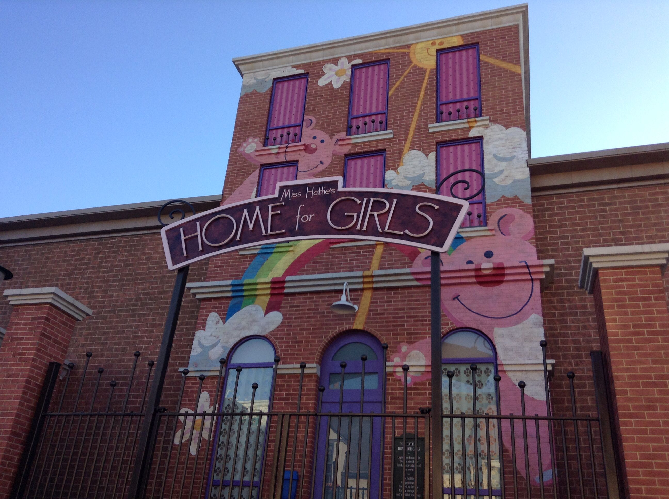 Miss Hattie's Home for Girls from Despicable Me in