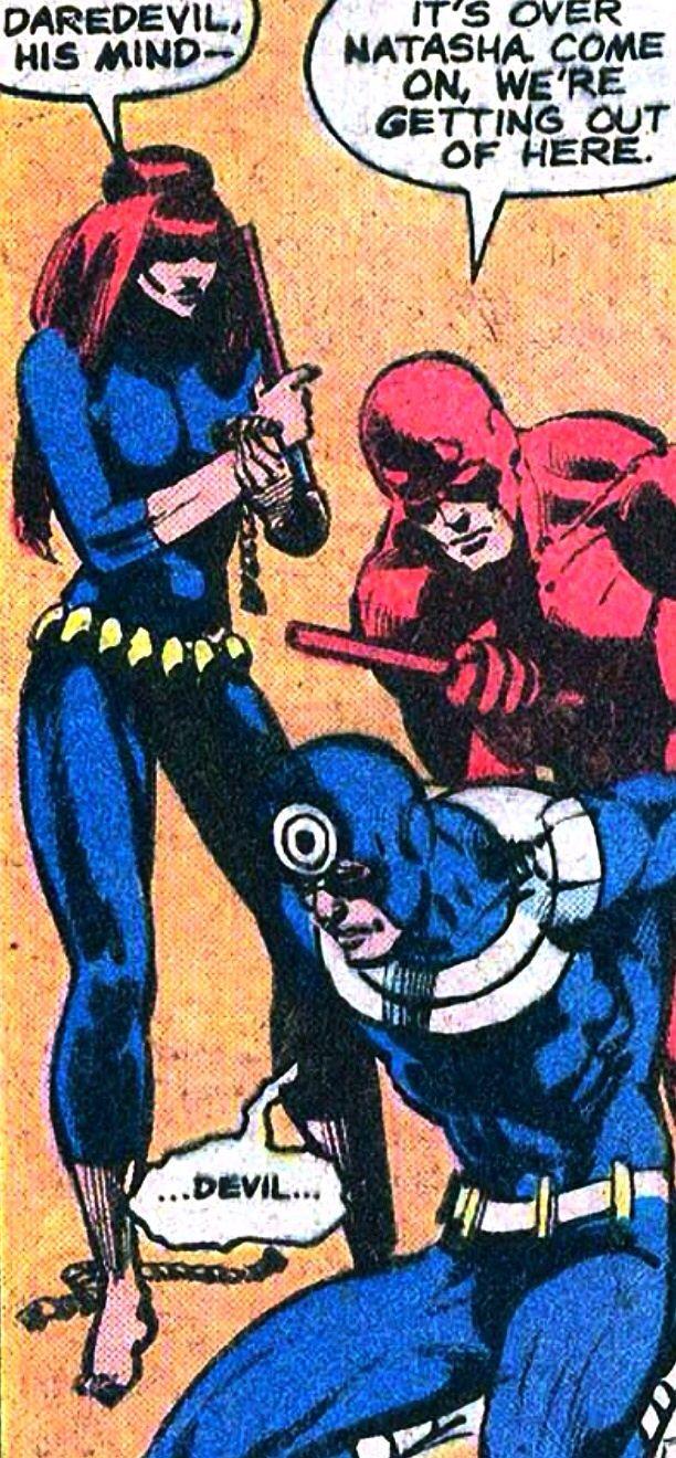 Broken Bullseye. Daredevil #161, November 1979 Frank Miller, Klaus Janson, and Roger McKenzie