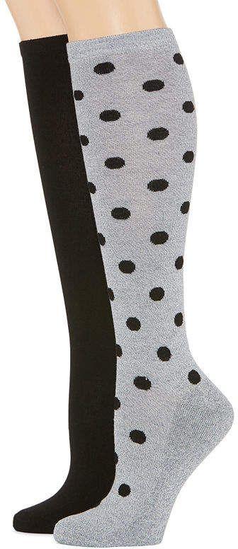 2513fce1048 MIXIT Mixit 2 Pair Knee High Socks - Womens