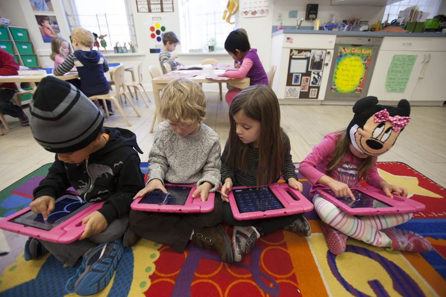 Technology In Elementary Classrooms : What good technology use looks like in the early years i things