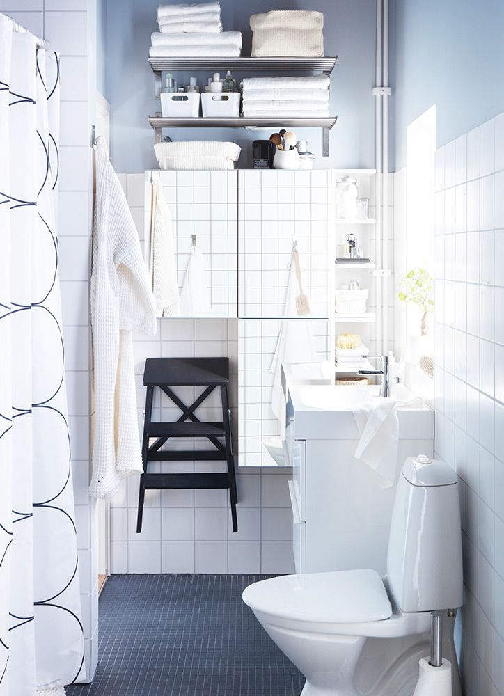 Curso sacar partido de los ba os peque os ikea for Muebles para apartamentos muy pequenos
