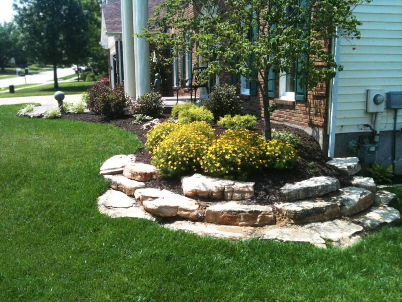 Landscape Boulders Cost Outdoor Goods Landscaping With Boulders