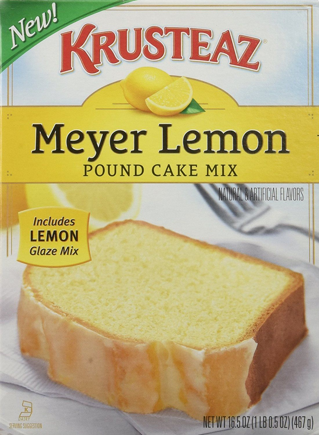 Krusteaz Meyer Lemon Pound Cake Mix 16 5oz Box Pack Of 2 To View Further For This Item Visit The I Lemon Pound Cake Recipe Lemon Pound Cake Pound Cake