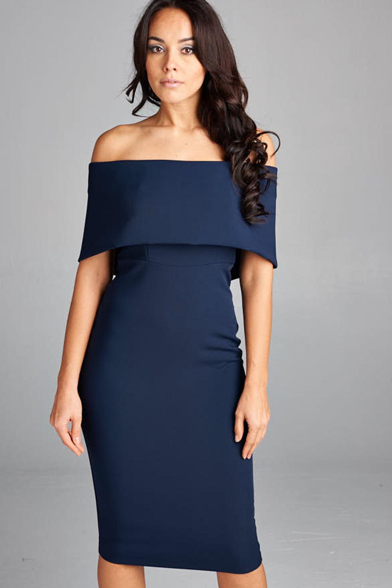 Modern MadMen\' Dress - Indigo   Strapless cocktail dresses, Modern ...