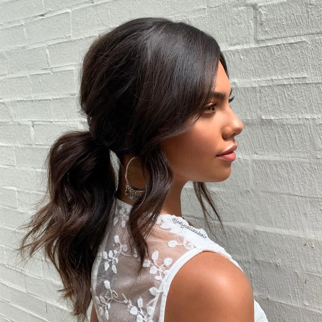 Effortless updo on beauty @miastook @chic_brisbane All about the face framing...... Would you ...
