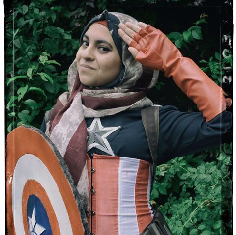 Hijabi Hooligan cosplay's photo.
