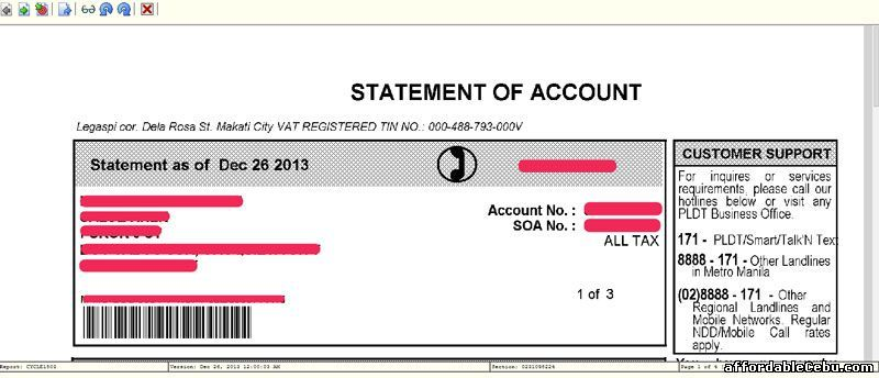 To access your PLDT billing statement online, you need to sign-up - billing statement