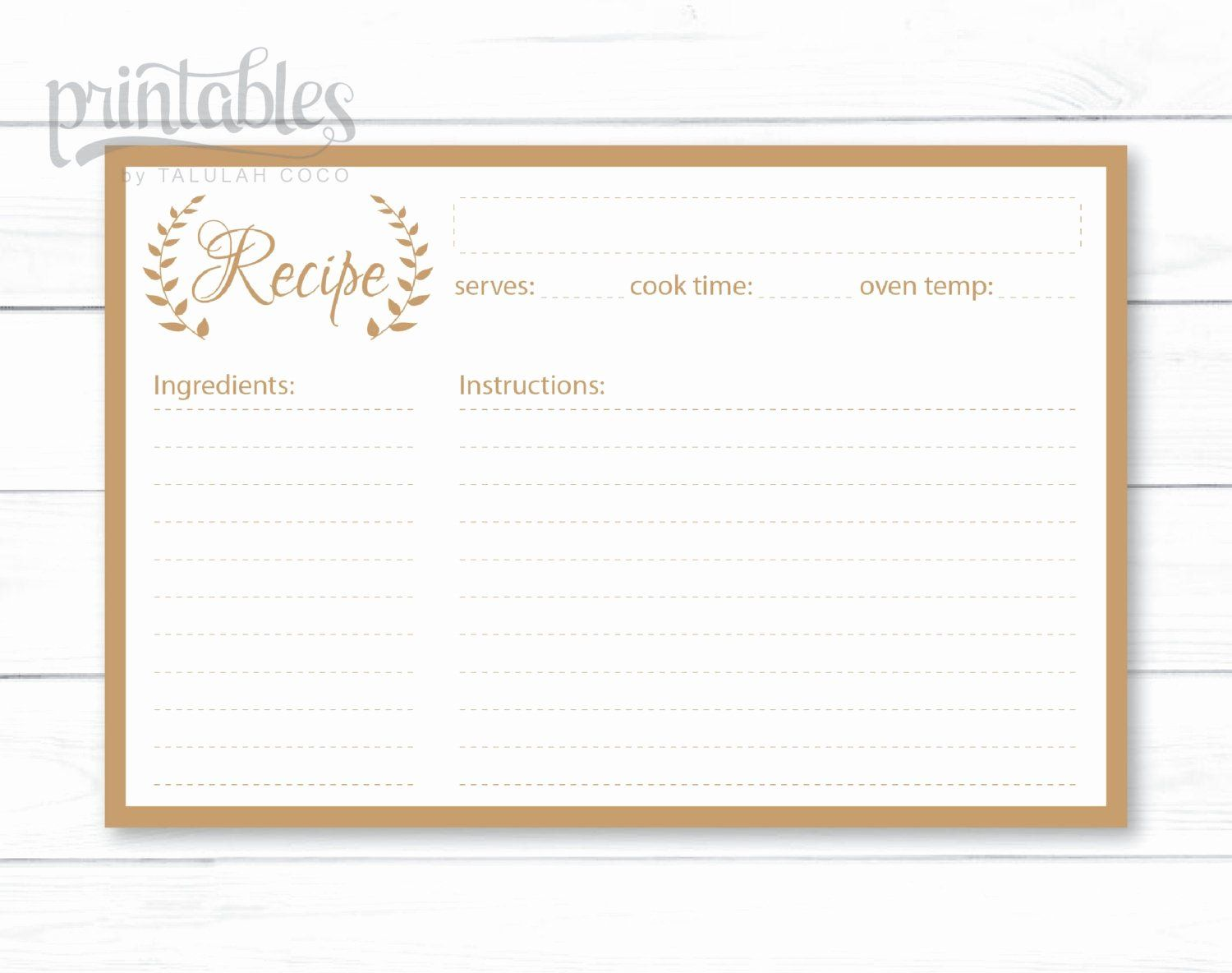 Editable Recipe Card Template Best Of Editable Recipe Cards Kitchen Organization Recipe Cards Printable Templates Recipe Cards Template Printable Recipe Cards