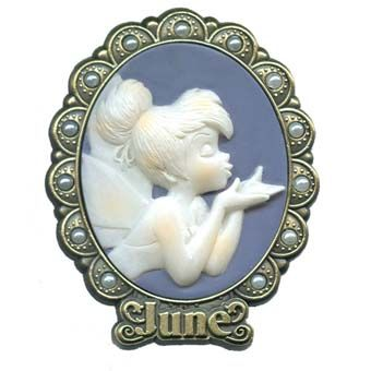 Tinker Bell is pictured with the June birthstone in this pin. Description from yourwdwstore.net. I searched for this on bing.com/images