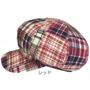 SP358 コットンパッチ408キャスケット 帽子 サイズ調整[3L 4L 大きいサイズ OK] ろしなんて工房 ROSINANTE