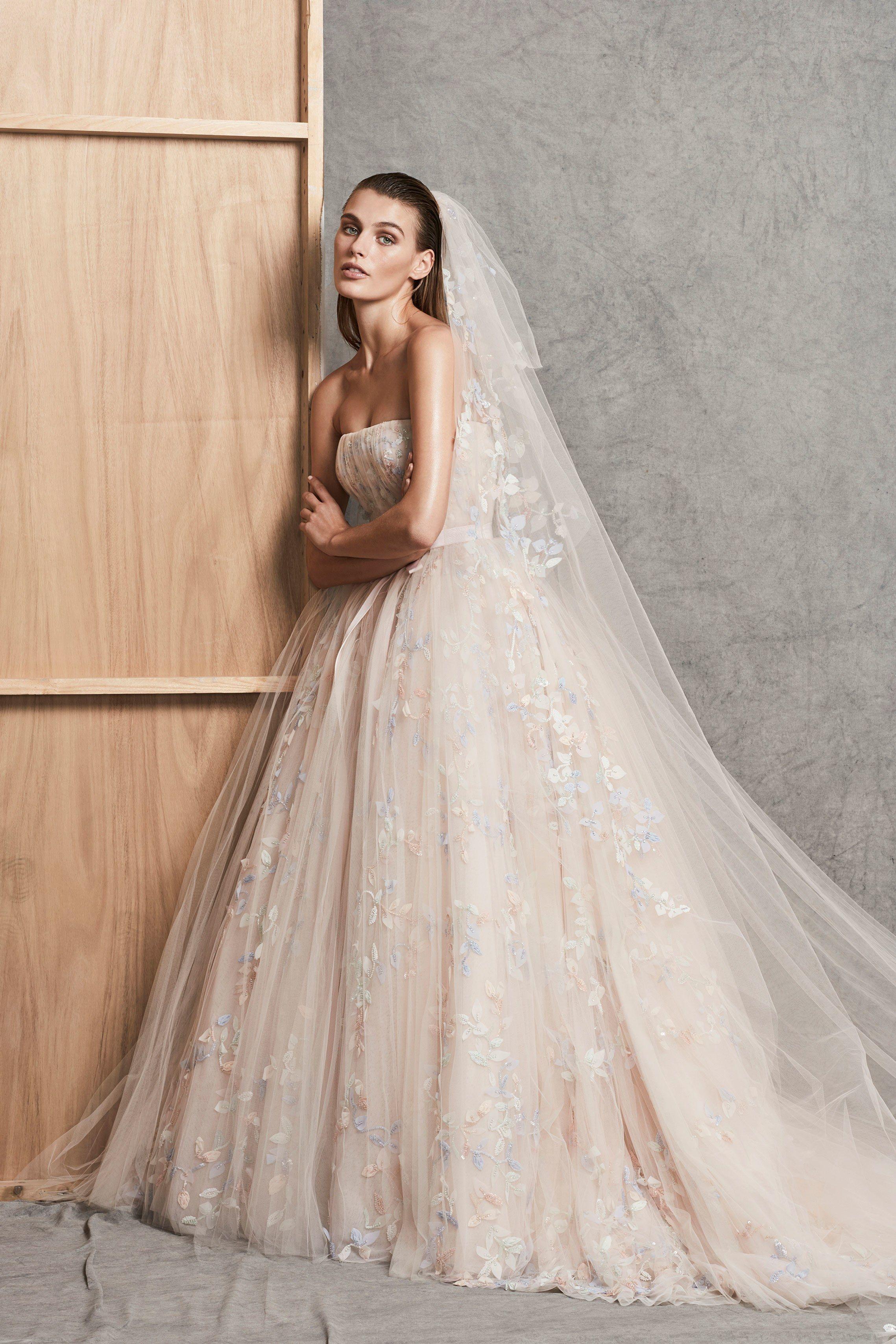 Die schönsten Brautkleider für 2018 | Ines di santo, Oscar de la ...