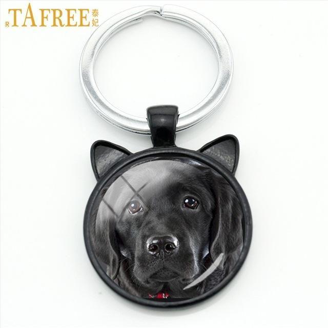 TAFREE Dog Photo Keychain