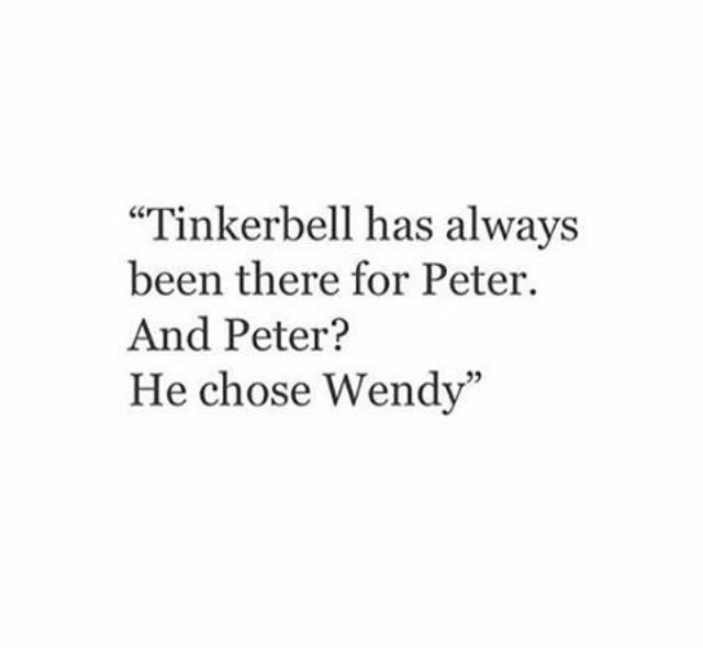 Tink peter wendy