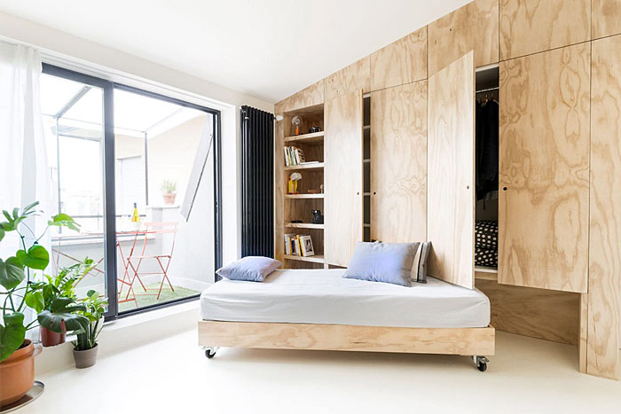 22 Ideas to Hide a Guest Bed in 2020 | Apartment design ...