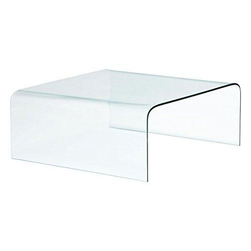 Zuo Sojourn Coffee Table Clear Clear Coffee Table