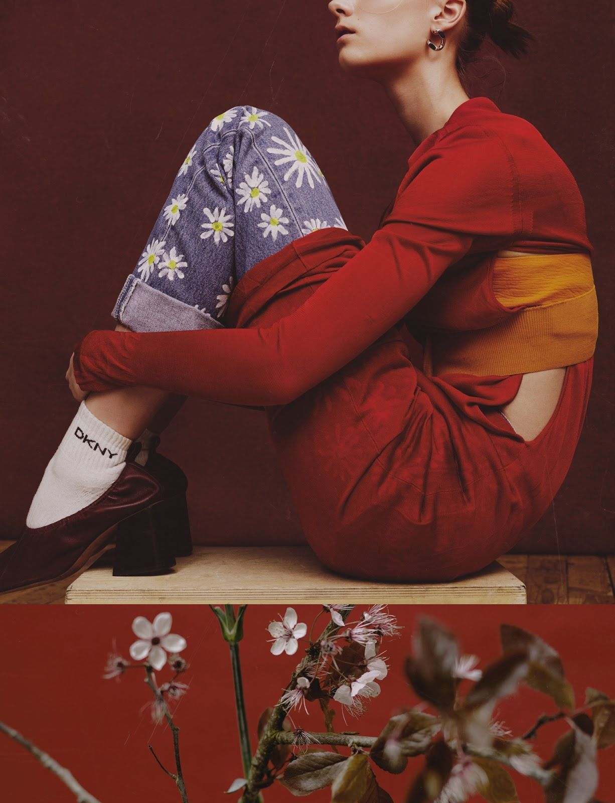"horreure ""Irina Liss by Benjamin Vnuk for Crash magazine"