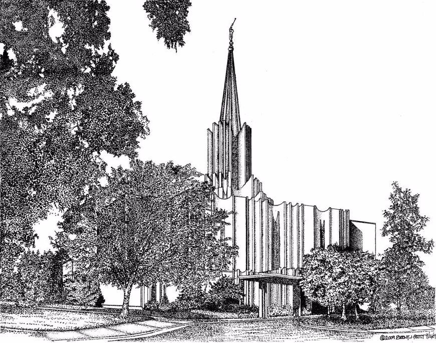 The Saunders Brothers and the Washington, DC Temple