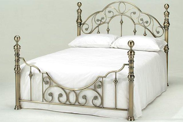 Harmony Florence Antique Brass Bed Frame Is A Beautiful Looking