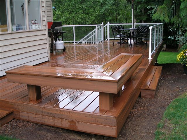 Attractive Deck Bench Seating Ideas Part - 8: Bench Designs
