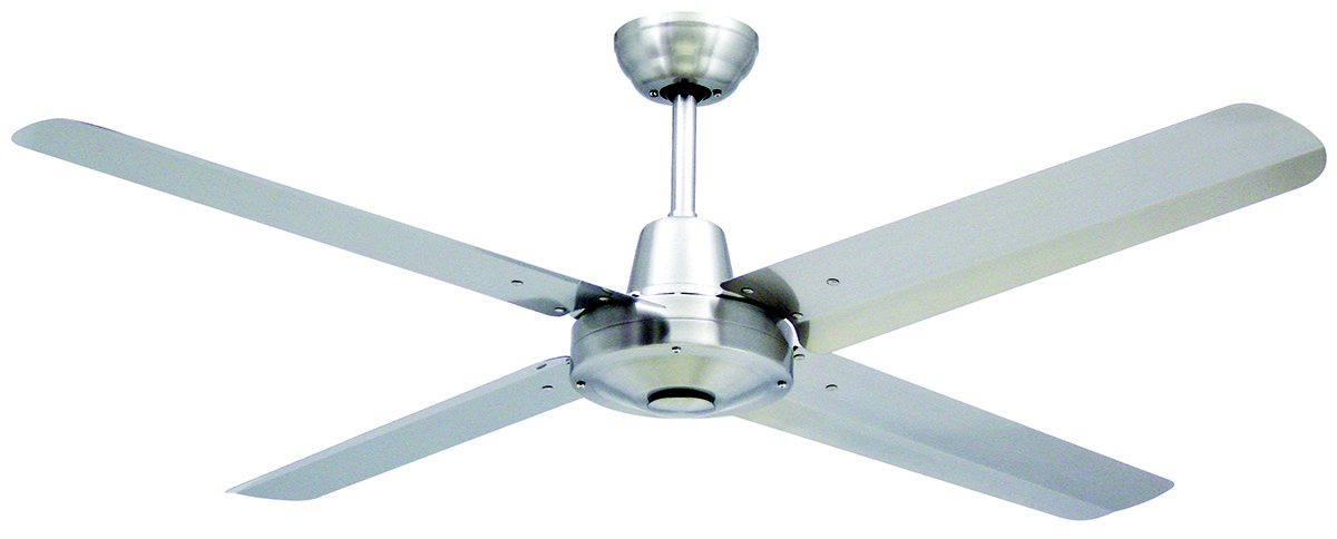 Vortex 4 52 316 Industrial Strength Ceiling Fan In Stainless