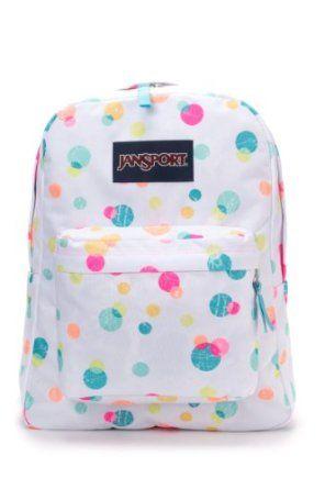 JanSport Classic SuperBreak Backpack: affiliate link