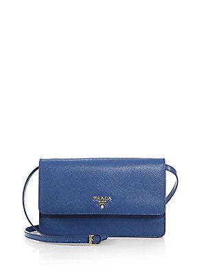 22e161ba2347 Prada Saffiano Lux Crossbody Bag