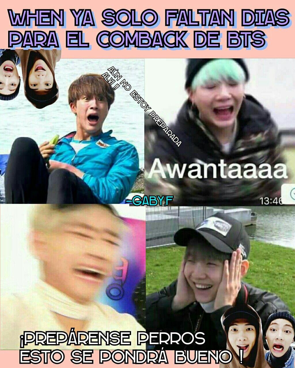 Pin En Bts Memes En Espanol