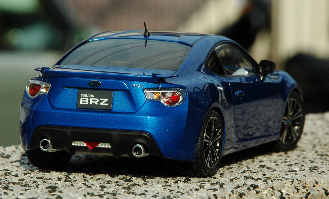 Subaru BRZ 1/24 Scale Model Tuner models, Diecast model