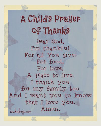 Image result for appreciation prayer for children