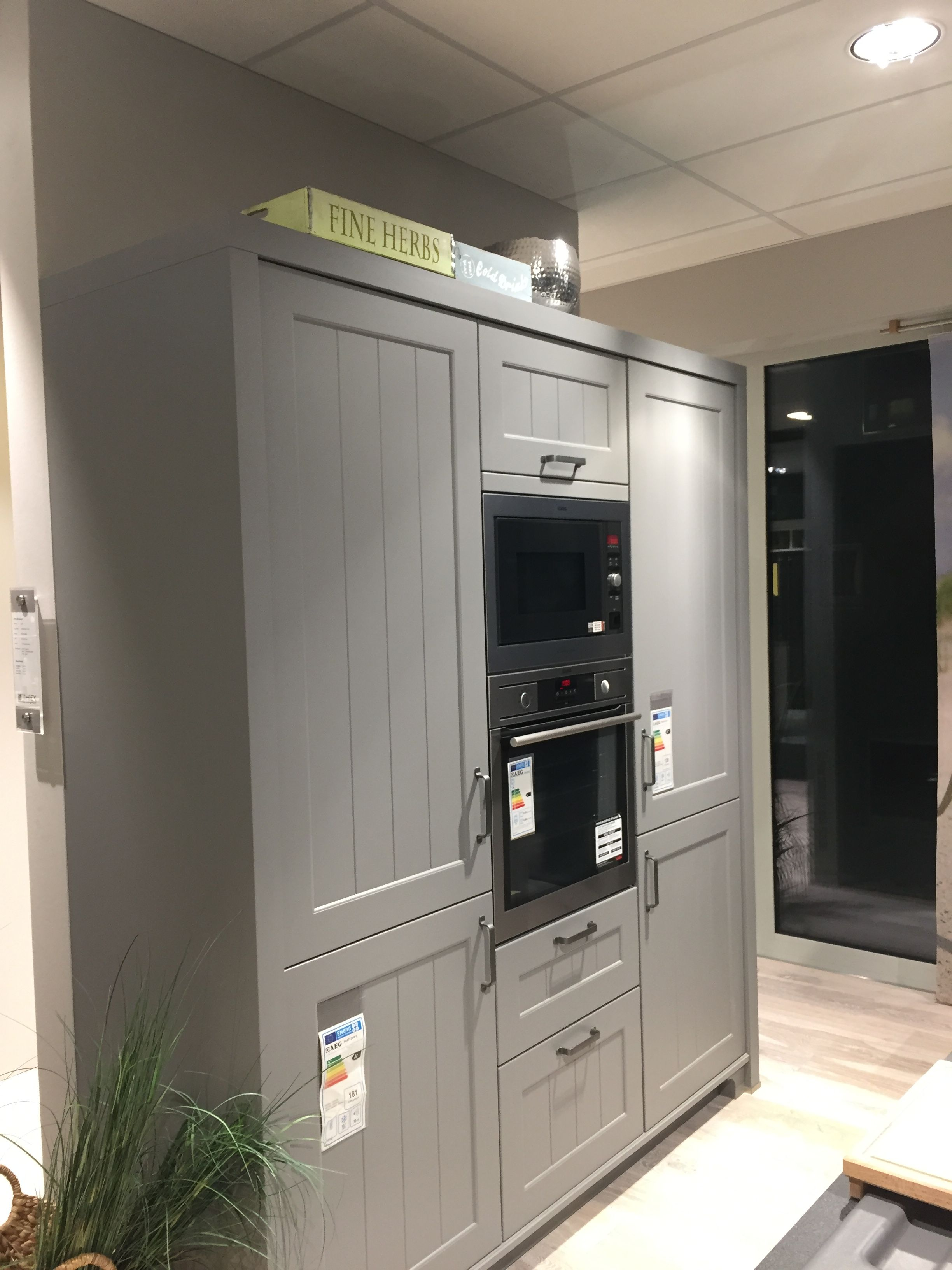 Schuller Canto Grey Rural Kitchen Bought At Thiex In Geichlingen