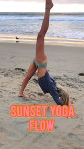 Yoga Flow- Follow Ambry Mehr | Health & Fitness Blogger | IG for free workouts!   This vinyasa yoga...
