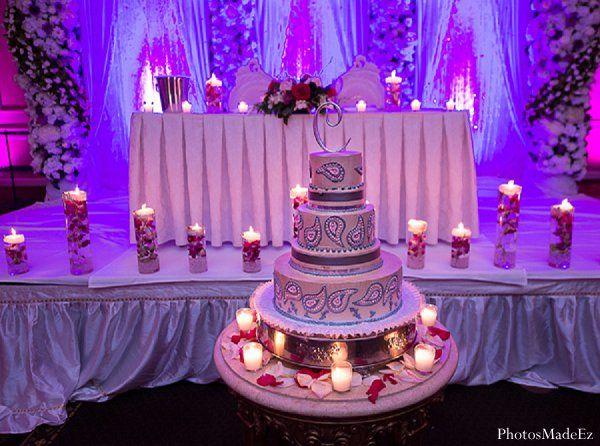 Cake For Mehndi Ceremony : Indian wedding reception decor cake http: maharaniweddings.com