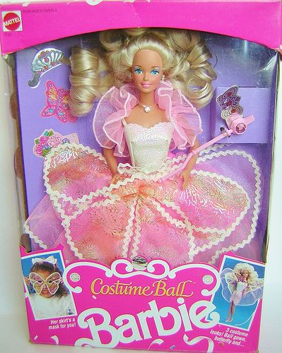 "Costume Ball Barbie. I think her picture is also on the Barbie board game ""Go To The Prom!"""