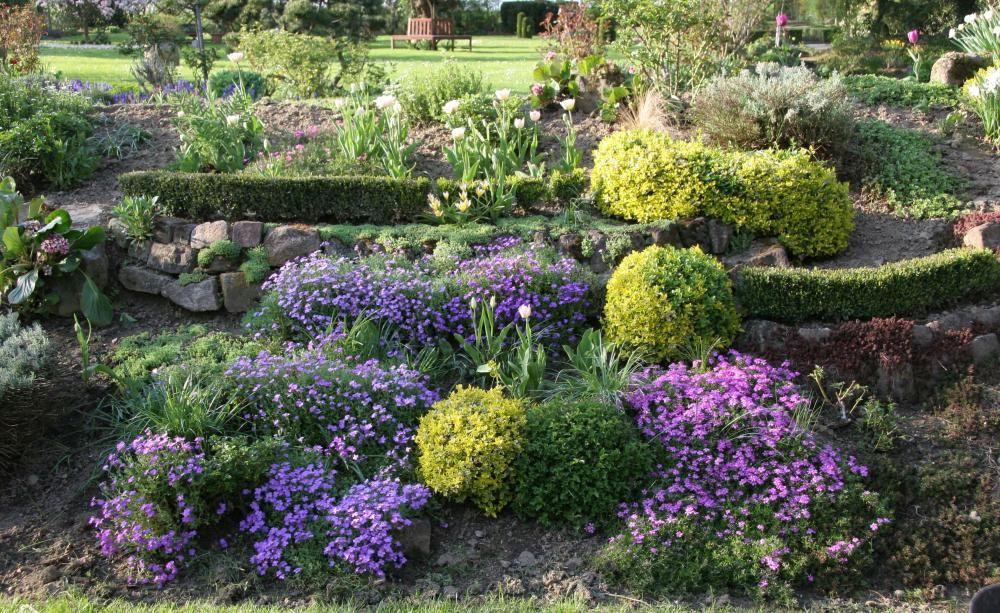 Hanggarten - Planen, Anlegen Und Tipps Terrasse Im Garten Herausvorderungen