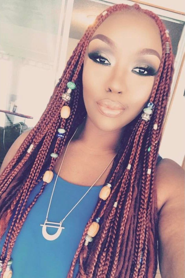 These Beaded Braid Hairstyles Will Leave You Mesmerized Braids With Beads Braided Hairstyles Protective Style Braids