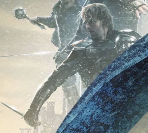 Zachary Levi as Fandral on the Thor 2 poster// I am BEYOND excited!!! *squeal*// WHAAAT?! THEY'RE CHANGING ACTORS?!?! xx