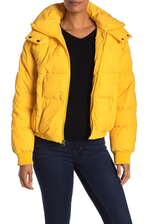 Lucky Brand Short Puffer Jacket Nordstrom Rack Short Puffer Jacket Yellow Bomber Jacket Jackets [ 1500 x 1000 Pixel ]