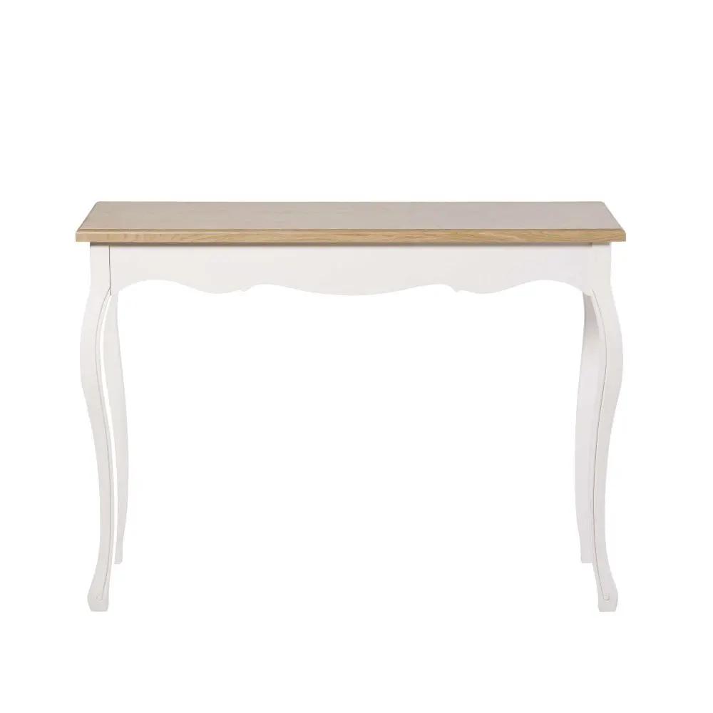 Console Creme Table Console Blanche Maison Du Monde Console Blanc
