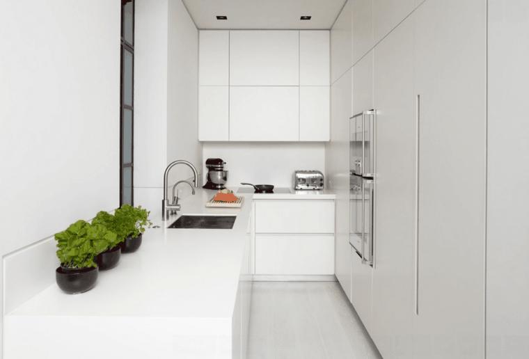 Cocina blanca - 42 diseños de cocinas que te encantarán - | Mueble ...