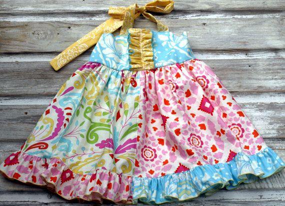 Easter Dress Sweet Kyla GROW with ME Dress by HottieTottieGirl