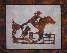 rodeo stencil patterns | wallhanging pattern click on photo to enlarge accent pattern click on ...