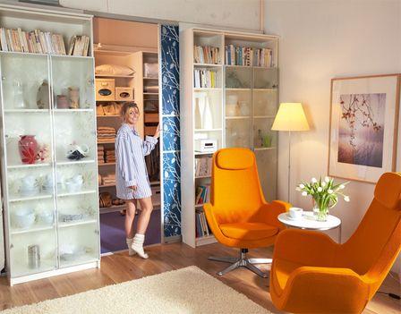 Der begehbare Kleiderschrank Closet Pinterest Ikea hack