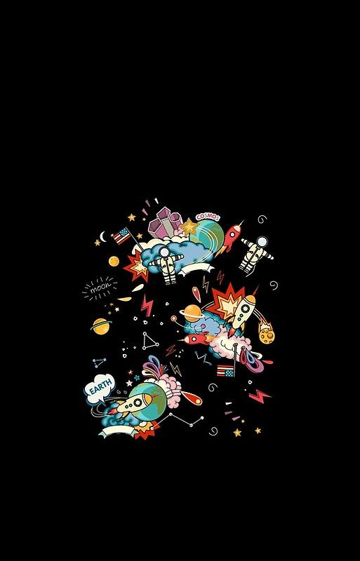 Cosmos, Space, Planets, Astronauts / Kosmos, Weltall, Planeten, Astronauten