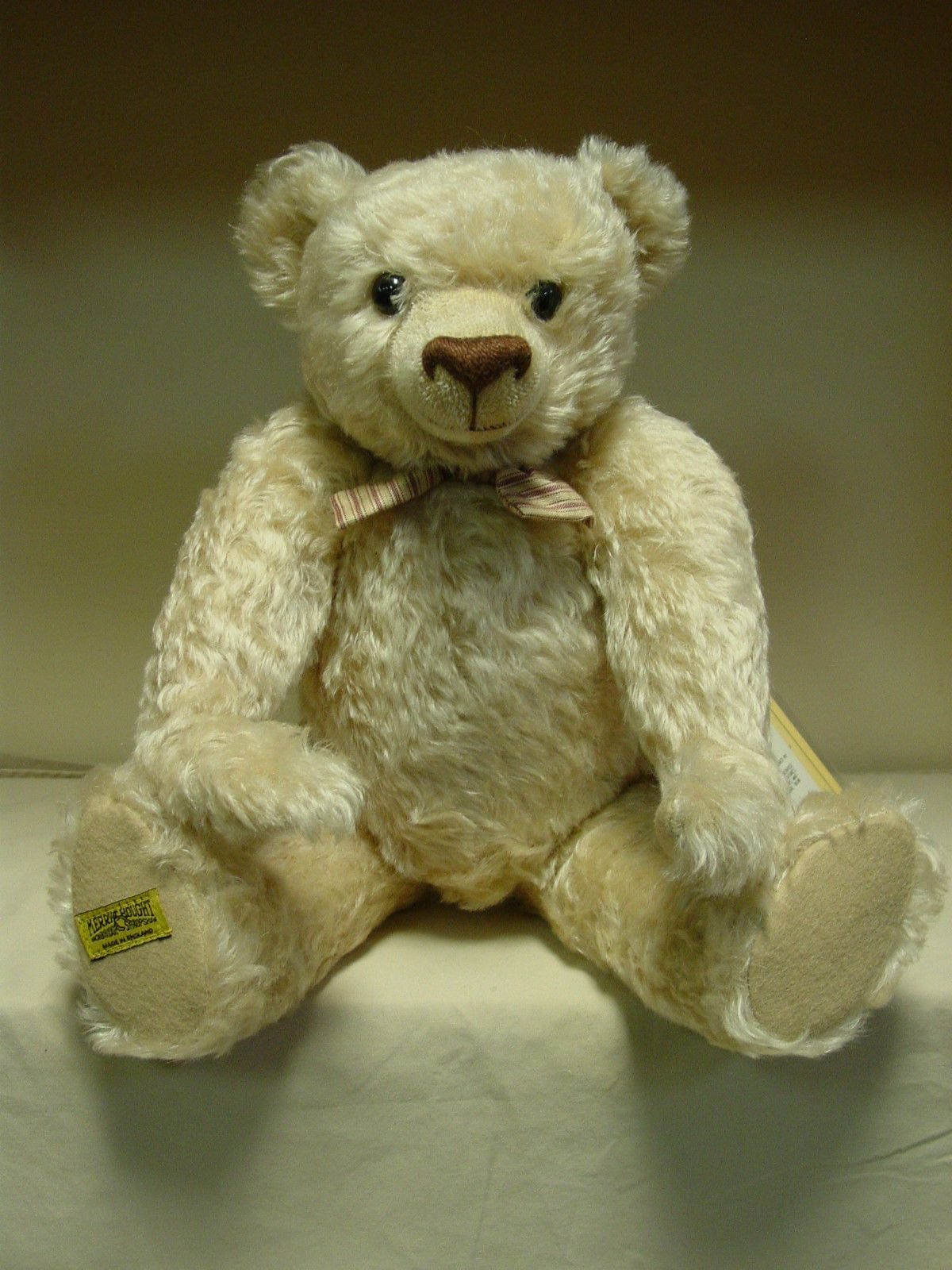 Merrythought Teddy Bears - Pure Elegance #HL18NG - Limited to 500 - Mohair   eBay