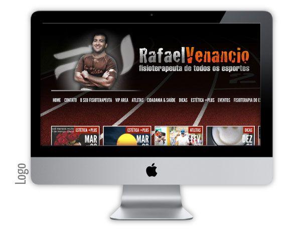 Logo criado para a empresa Rafael Venancio pela agência Nkdesign