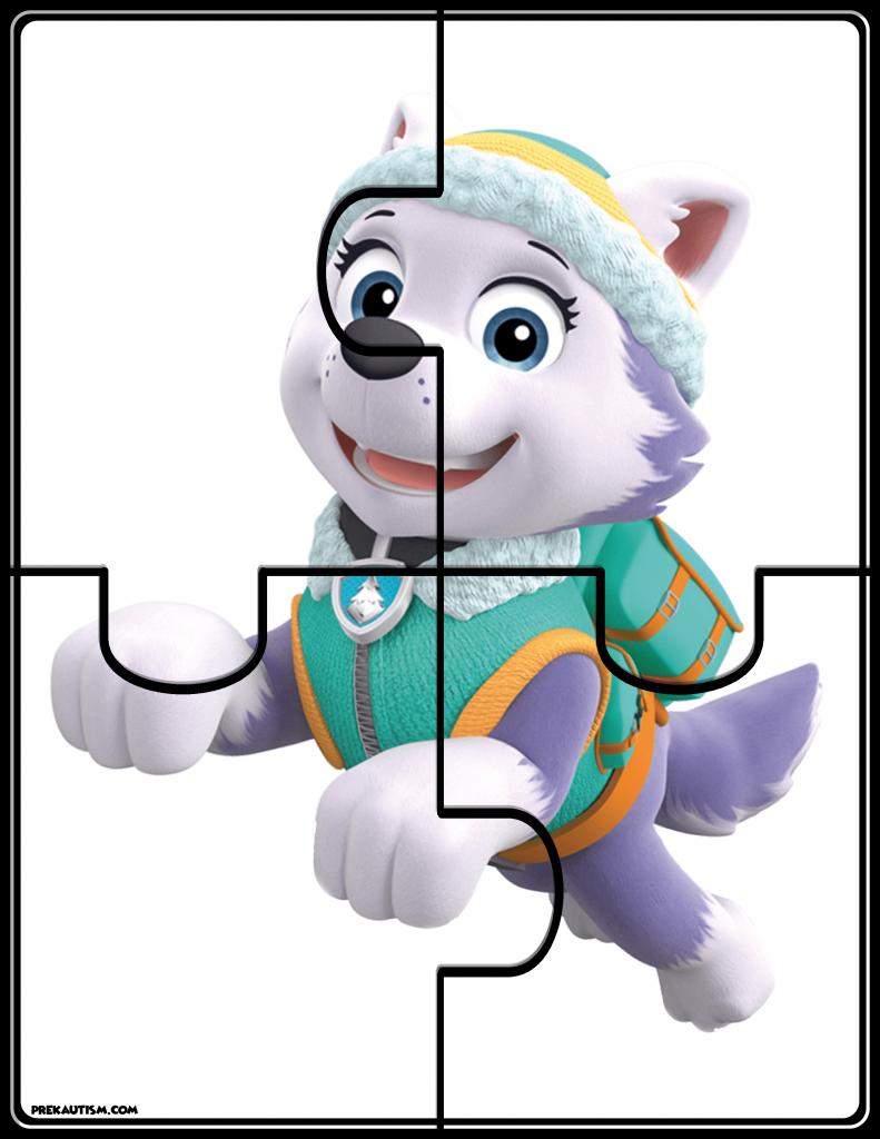 free paw patrol jigsaw puzzle  paw patrol paw patrol