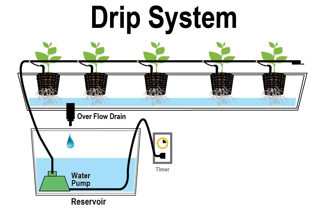 hidroponični namakalni sistemi