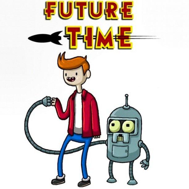 #adventuretime #futurama