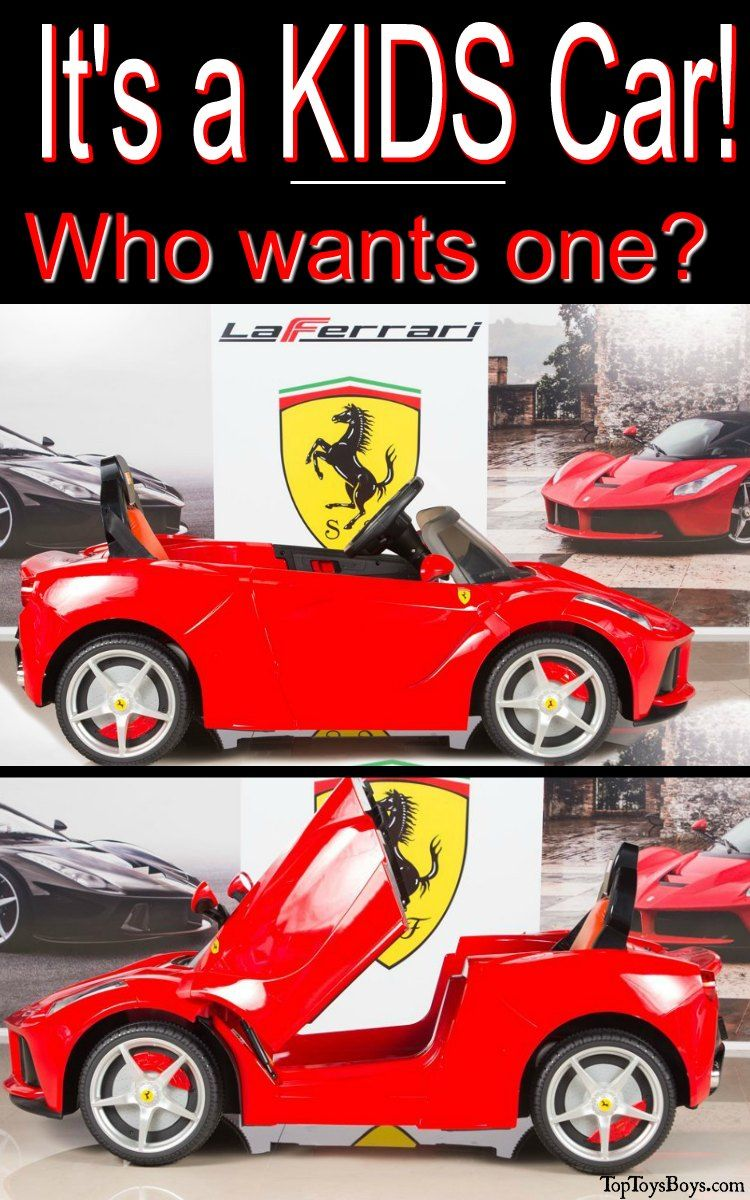 Ferrari Electric Ride On Car Luxury Cars For Kids Find The Latest Luxury Ride On Cars For Kids Zoom Zoom Around The Kids Ride On Latest Kids Toys Childcare